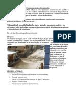Fenomes y Desastres