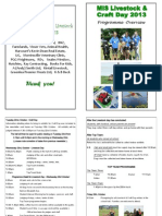 Programme Overview 2013