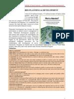 Watershed Planning & Developemnt
