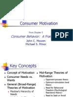 Motivation Theory - MKTG 672