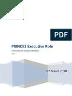 PRINCE2 Executive Role