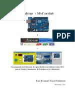 Trabajos y Aplicaciones Educativas de Myopenlab y Arduino