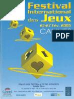 Cannes 2005 Plaquette