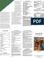 July 26, 2009 Bulletin