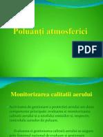 Poluanţi atmosferici