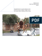 genre 2a - escape the spider art piece