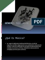 Gneros Musicales
