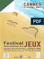 Cannes 2007 Plaquette