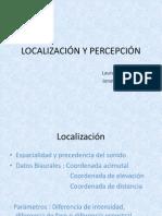 LOCALIZACIÓN Y PERCEPCIÓN