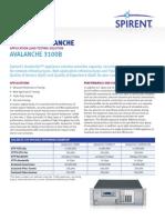 Avalanche 3100 Datasheet