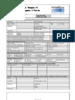 Motiv8 Request for Support Form