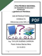 Consulta Gis y Cad