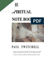 Paul Twitchell - Spiritual Notebook