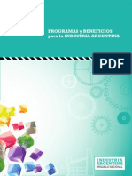Manual Programas y Beneficios Para La Industria Argentina