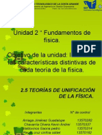 2.5 -Teoria de La Unificacion