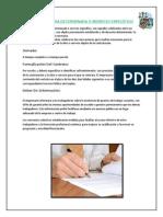 Contrato de Obra o Servicio Determinado