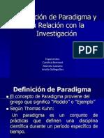 Diapositivas de Investigacion Paradigma Marcela Lazcano