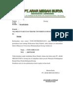 Surat Balasan KP