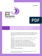 2008 Current Issues in Lewy Body Dementia