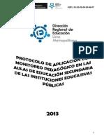 Protocolo Ficha Monitoreo