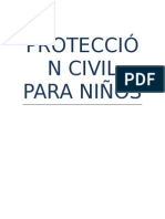 PROTECCIÓN CIVIL PARA NIÑOS