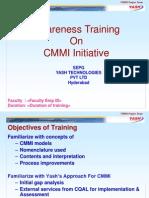 CMMI Awareness Training