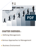 Management & Its Evolution
