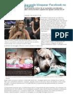 Decisão da Justiça pode bloquear Facebook no Brasil em até 48 horas [diariodepernambuco.com.br]