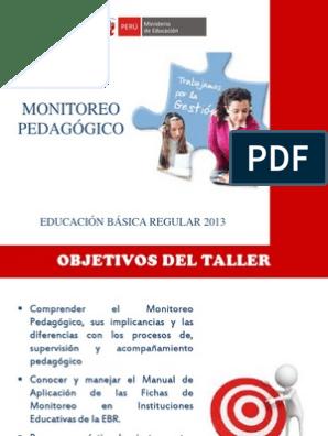 Monitoreo Ayacucho Aprendizaje Cognición