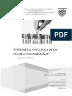 Interpretación clinica de pruebas inmunologicas