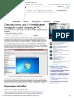 Descubra Como Usar o VirtualBox Pelo Navegador a Partir de Qualquer PC! [Ou Smartphone] (Tutoriais) - Superdownloads