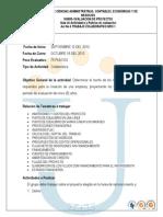 Guia de Actividades y Rubrica de Evaluacion Trabajo Colaborativo Nro 1 2013 II