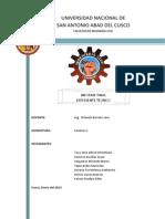 Caminos I - Informe Final