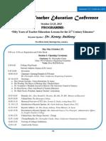 tcj programme insert oct 16 2013