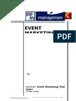 Paper Event Marketing Dr MasRah