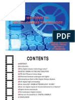 Digital Cinema Technology 2009