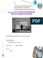 Publicar Canal Abierto