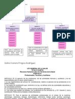 Ley General de Salud Mapa y Resumen