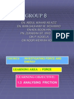Group 8_1.3 Analysing Friction