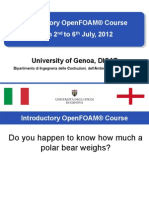 OpenFoam Introduction