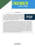 Let's Talk Health Report - 2013