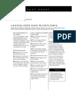 Fact Sheet - Landslides