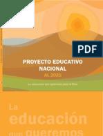 El Proyecto Educativo Nacional Publicado_ccesa