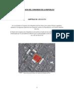 INFORME DEL PALACIO DEL CONGRESO DE LA REPÚBLICA
