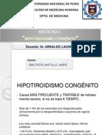 Seminario Hipotiroidismo congénito