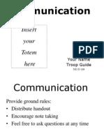 Communication - Presentation Final