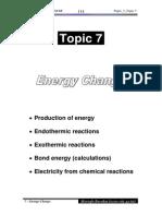 7 Energy Change