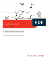 BAIN BRIEF Selling the Cloud