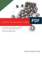 BAIN BRIEF Big Data the Organizational Challenge