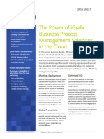 iGrafx Cloud DataSheet